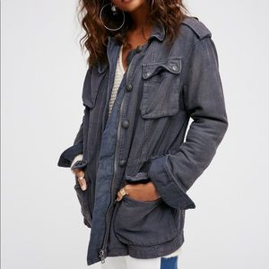 Free People Not Your Brother's Utility Jacket